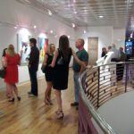 Reception for the BFA Juried Exhibition at the Harrison Galleries, 2011