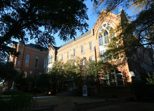 Garland Hall, home of the Department of Art and Art History