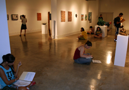 Emily Tipp's NEW 212 Creativity Class in the Sella Granata Gallery