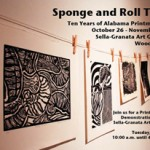 Sponge and Roll Tide - Ten Years of Alabama Printmaking