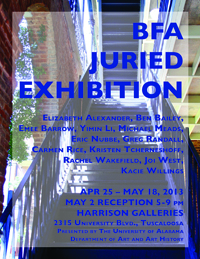 BFA Juried Exhibition 2014