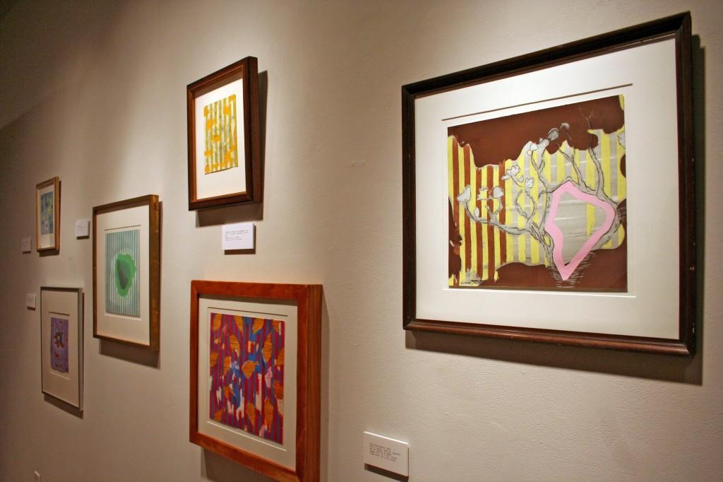 "Installation view, ""William T. Dooley, Recent Works,"" 2013, Ferguson Center Gallery, UA"