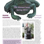 Our spring newsletter, The Loupe, features alumni interviews.