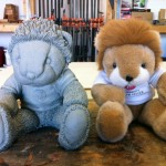 "Craig Wedderspoon's model for ""Simon the Lion"" in the 8th annual Children's Charity Classic"