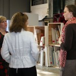 Dean's open house for the new curation space for the Sarah Moody Gallery of Art's Permanent Collection at The University of Alabama.