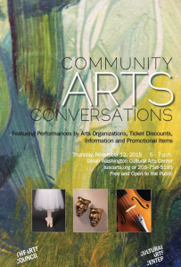 Community Arts Conversations, Arts Council of Tuscaloosa, Dinah Washington Cultural Arts Center