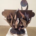 Sculpture by Eric Nubbe and Craig Wedderspoon for Nucor Charity Auction 2016.