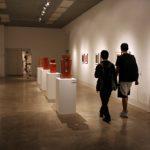 Visitors in the Sella-Granata Gallery