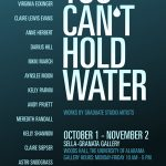 You Can't Hold Water, poster