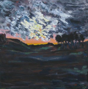 "Ann Betak, ""Sunset,"" 2011."