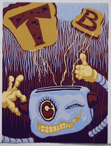 Jacob Davidson, Toaster Boy Poster 2