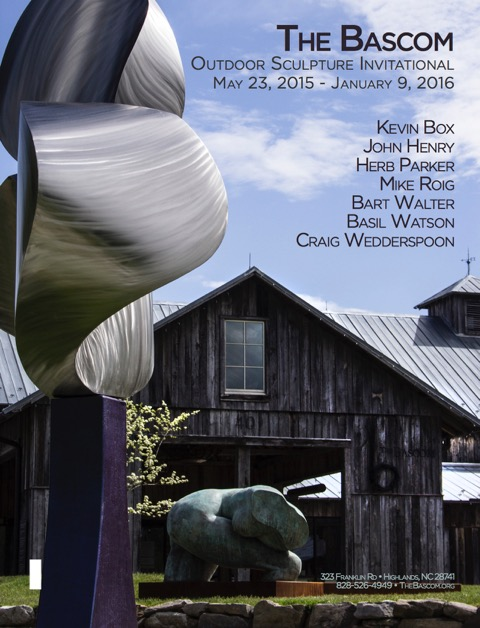 The Bascom Outdoor Sculpture Invitational May 23, 2015 to January 9, 2016, Highlands, NC