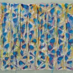 "Richmond Burton, ""Cerulean Bridge,"" 2013, oil on canvas, 36 x 72 inches. Image courtesy of the artist."