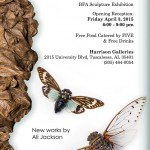 Ali Jackson BFA Exhibition Poster