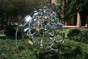 Lindsay Jones Lindsey, Fibonacci Spiral, 2012, stainless steel