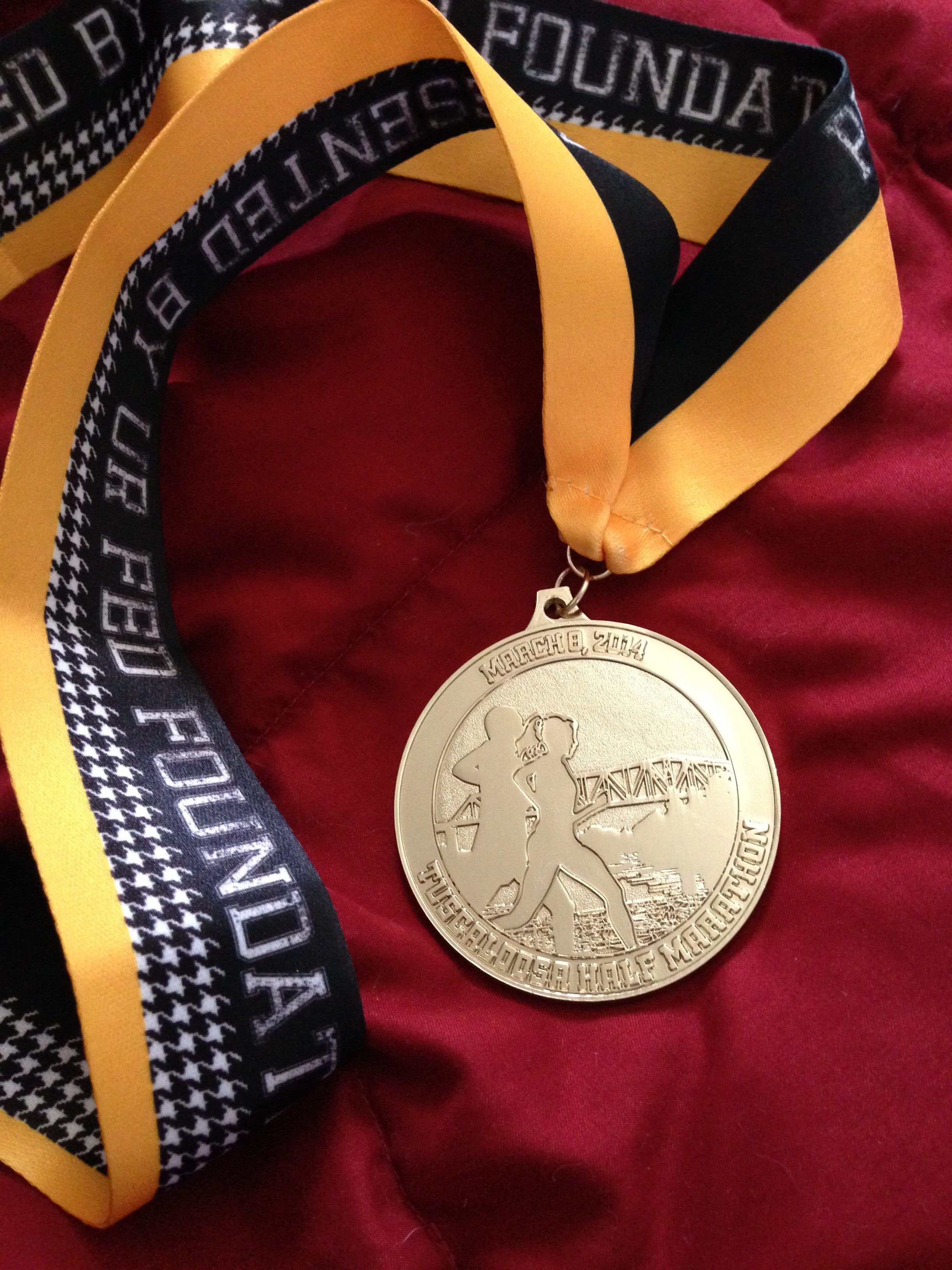 Medal designed by students in Laura Lineberry's class.