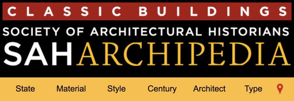 Society of Architectural Historians Archipedia, online encyclopedia