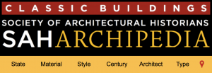 Society of Architectural Historians Archipedia, online encyclopedia