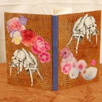Charlotte Wegrzynowski, sketchbook with cicada drawing and roses.