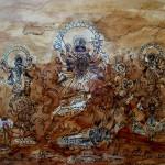 Art work by Anathbandhu Chaudhuri of Alabama in the Alabama National Juried Exhibition.