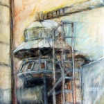 Art work by Joanne Fogle of Alabama in the Alabama National Juried Exhibition.