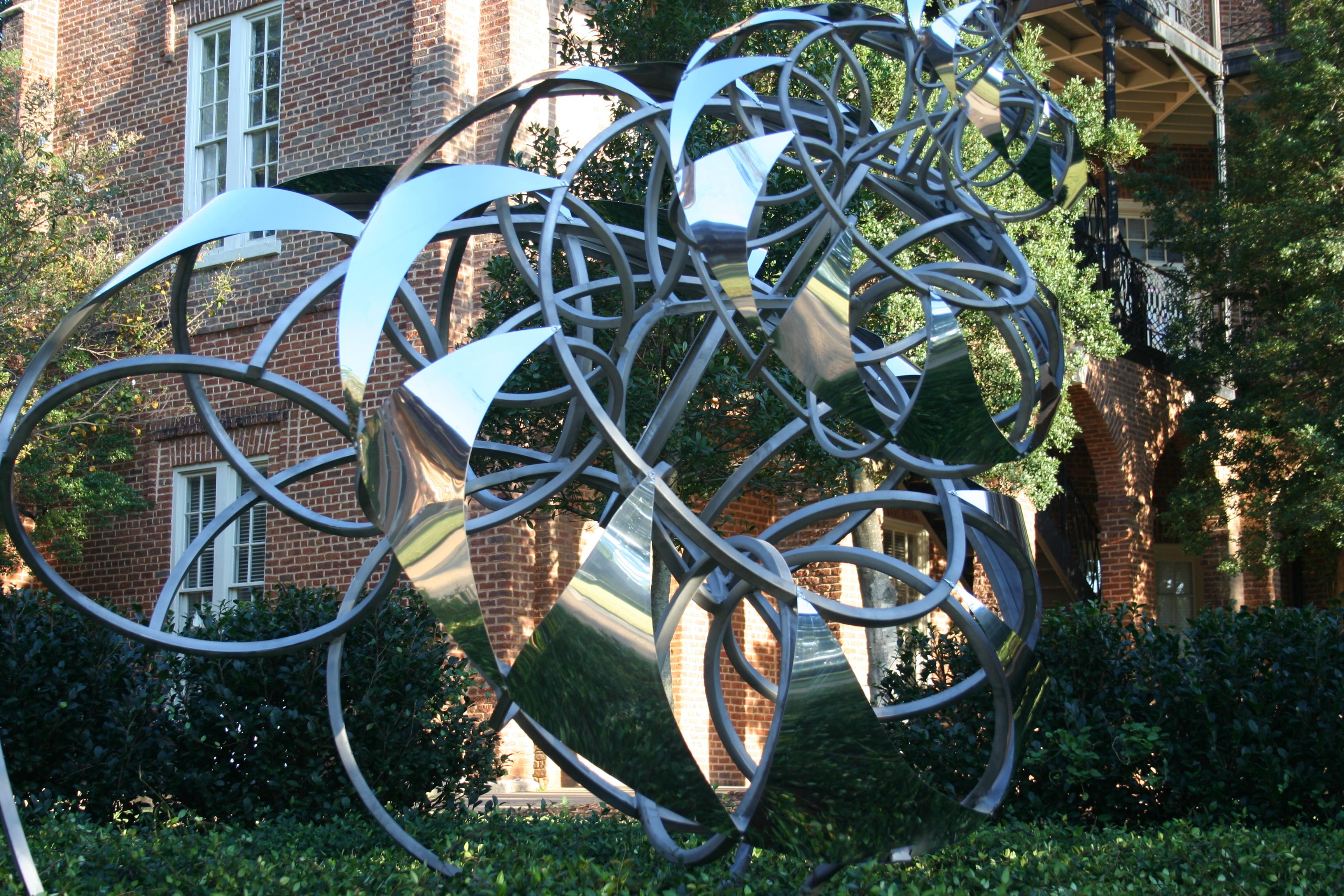 woods quad sculpture garden dedicated