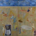 Art work by Sarah Wilkins of North Carolina in the Alabama National Juried Exhibition.