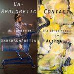 Sarah Austin and Ali Hval dual exhibition in the Sella-Granata Art Gallery, 2015
