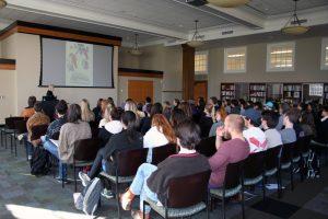 Keynote speaker Dr. Barbara Mooney, of the University of Iowa