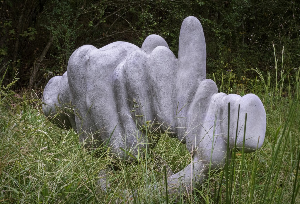 Sculpture by Meredith Knight; photo by Greg Randall