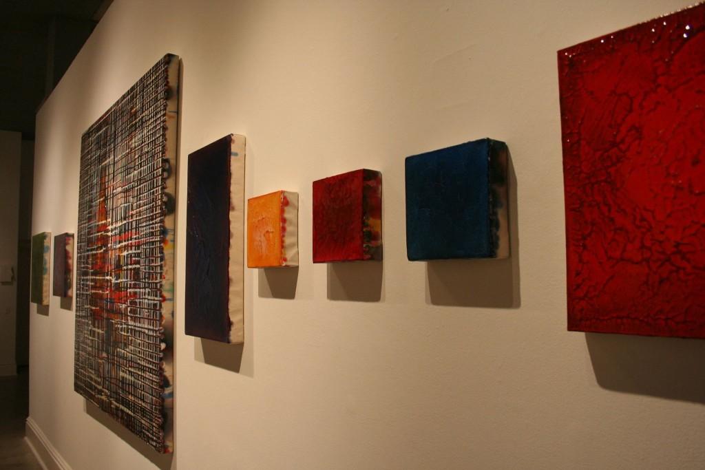 Paintings by Joshua Whidden in Bilateral; Memory & Experience, 2015, Sella-Granata Art Gallery.