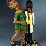 "Joyce J. Scott, ""Look Mom, A Doctor!"", 2008; AUG 27-OCT 16 Joyce J. Scott: Truths and Visions at Sarah Moody Gallery of Art"