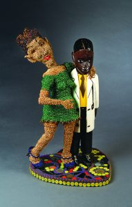 """Joyce J. Scott, """"Look Mom, A Doctor!"""", 2008; AUG 27-OCT 16 Joyce J. Scott: Truths and Visions at Sarah Moody Gallery of Art"""