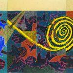 "Russ Warren, ""Night Fishing at Moms'"", 2014, OCT 29-DEC 4 Russ Warren: Works 1971 – 2015 at Sarah Moody Gallery of Art"