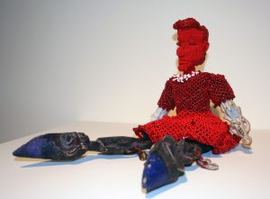 "Joyce J. Scott, ""Ancestry Doll: 1,"" 2011"