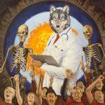 "Tom Wegrzynowski, ""The Scientist,"" 2014, oil on canvas, 48 x 36 inches"