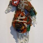 """Joyce J. Scott, """"Prayers,"""" 2012, SMGA."""