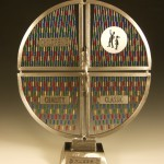 Ali Jackson's steel sculpture for 9th annual Nucor Children's Charity Classic auction.