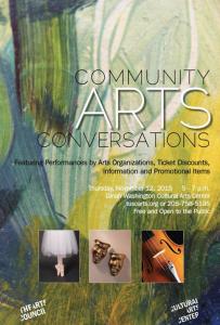 Community Arts Conversations, Arts Council of Tuscaloosa, Dinah Washington Cultural Arts Center