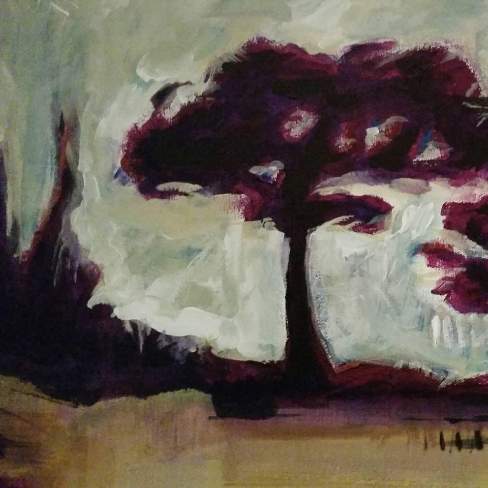 Brandon Baggett, painting detail