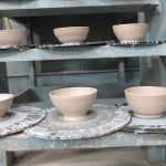 UA's Crimson Clay is making 100 bowls to donate to UPC's Empty Bowls event this year!
