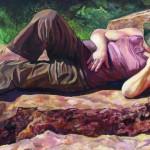 Deborah Hughes, On the Rocks exhibition