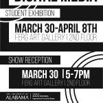 2016 Digital Media Exhibition, Ferguson Gallery