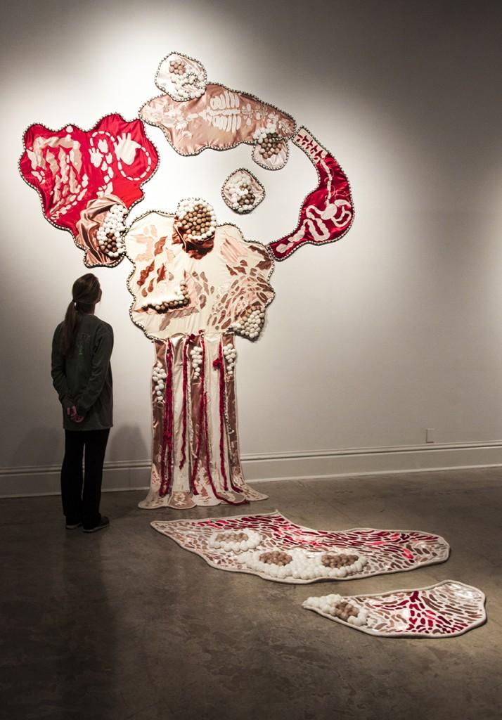 "Ali Hval, ""Interior Me;"" area: drawing, faculty: Pete Schulte"