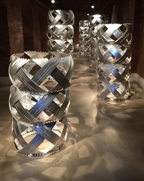 "Craig Wedderspoon, ""Oval."" 2016 UA Faculty Biennial, SMGA."