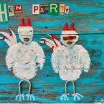 Scott McQueen, Hen Party, at Kentuck Center in June.