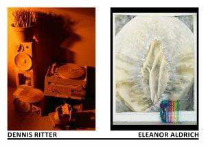 Dennis Ritter | Eleanor Aldrich exhibition card