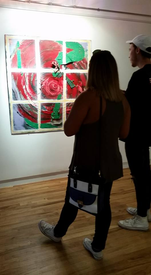April Bachtel at Harrison-Galleries, 9-2016
