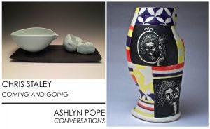 Chris Staley | Ashlyn Pope exhibition at the Sella-Granata Art Gallery, 2016