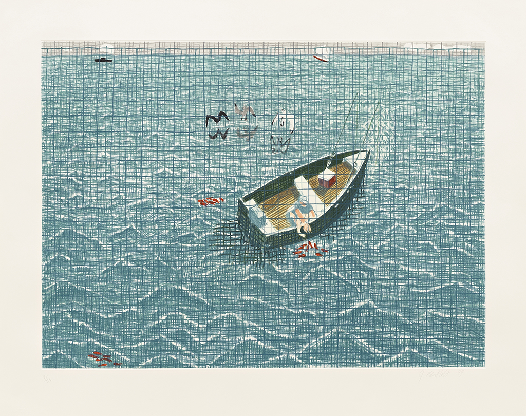 "Jennifer Bartlett, ""Boat,"" SMGA Permanent Collection"